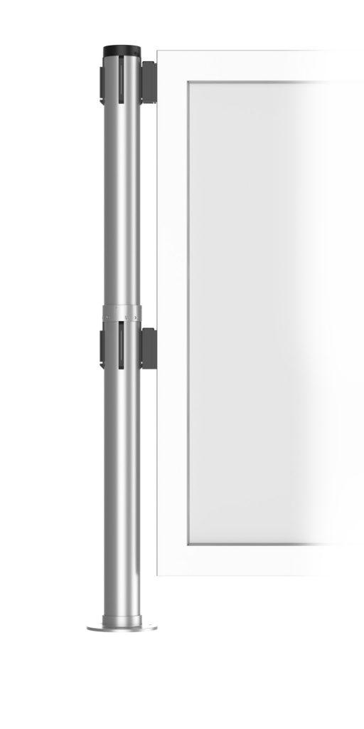 Dual Post Portable Base Blocks Fixed 1