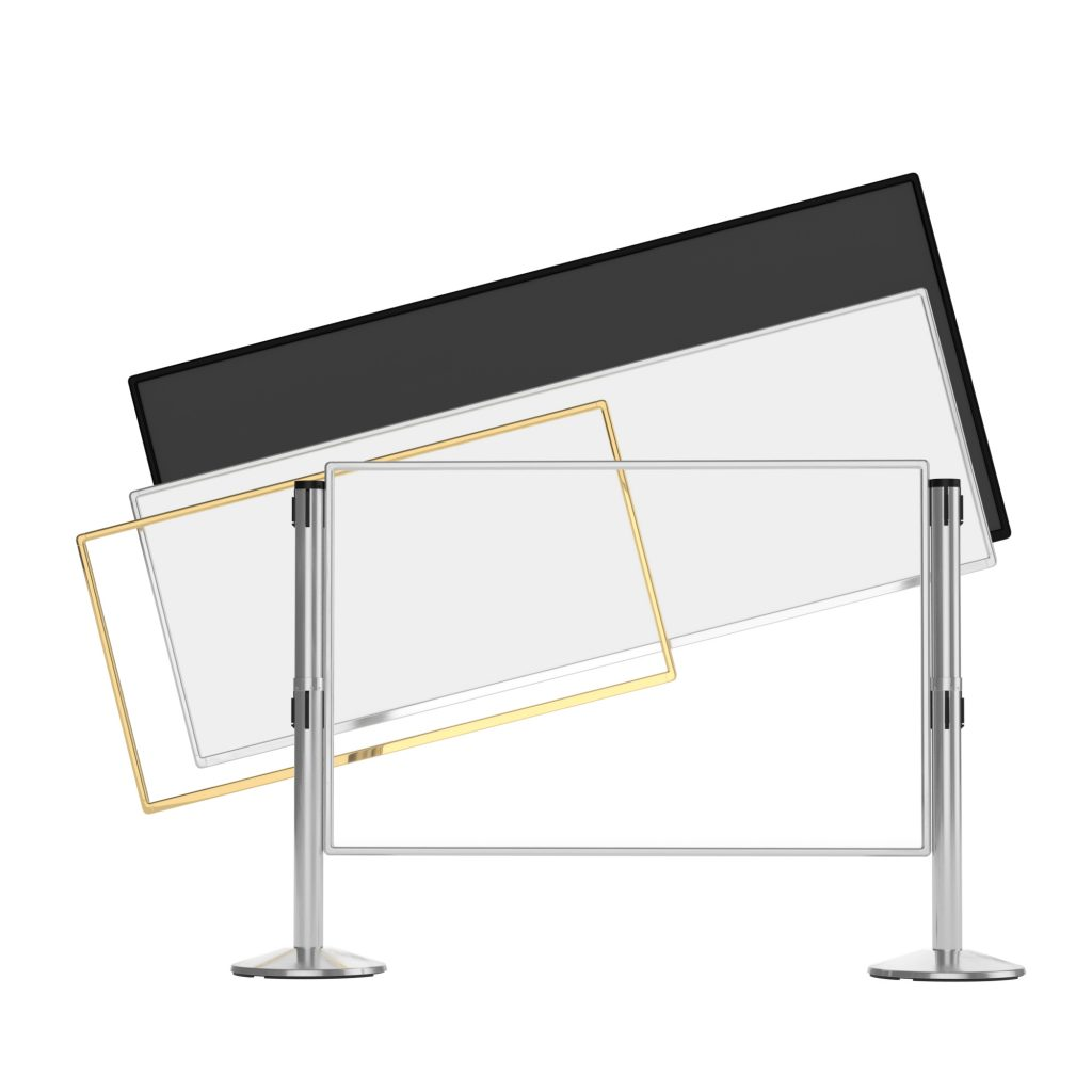 Designer Series Q-Panel Rigid Crowd Control Barrier System