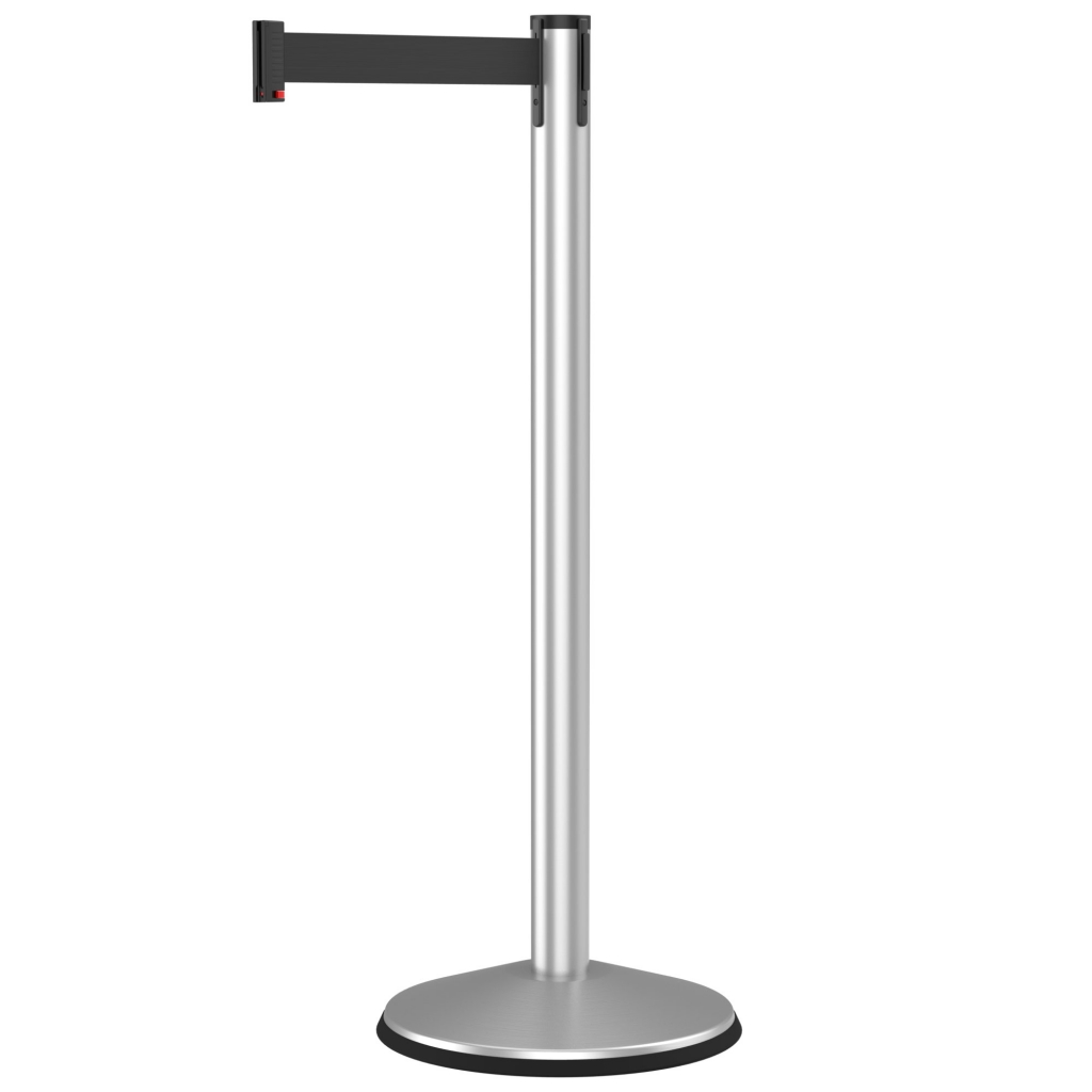 Retracta-Belt Prime 10' Retractable Belt Crowd Control Stanchion