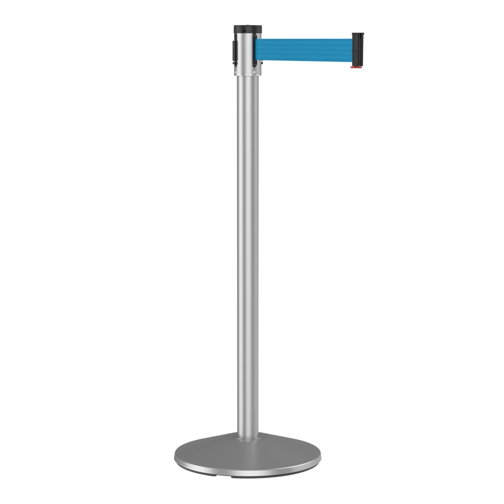 Slim Line Retracta-Belt Retractable belt stanchion