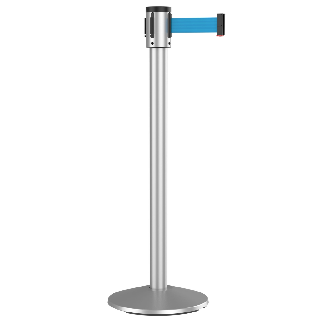 15' Retracta-Belt 300 Series Retractable Belt Crowd Control Stanchion