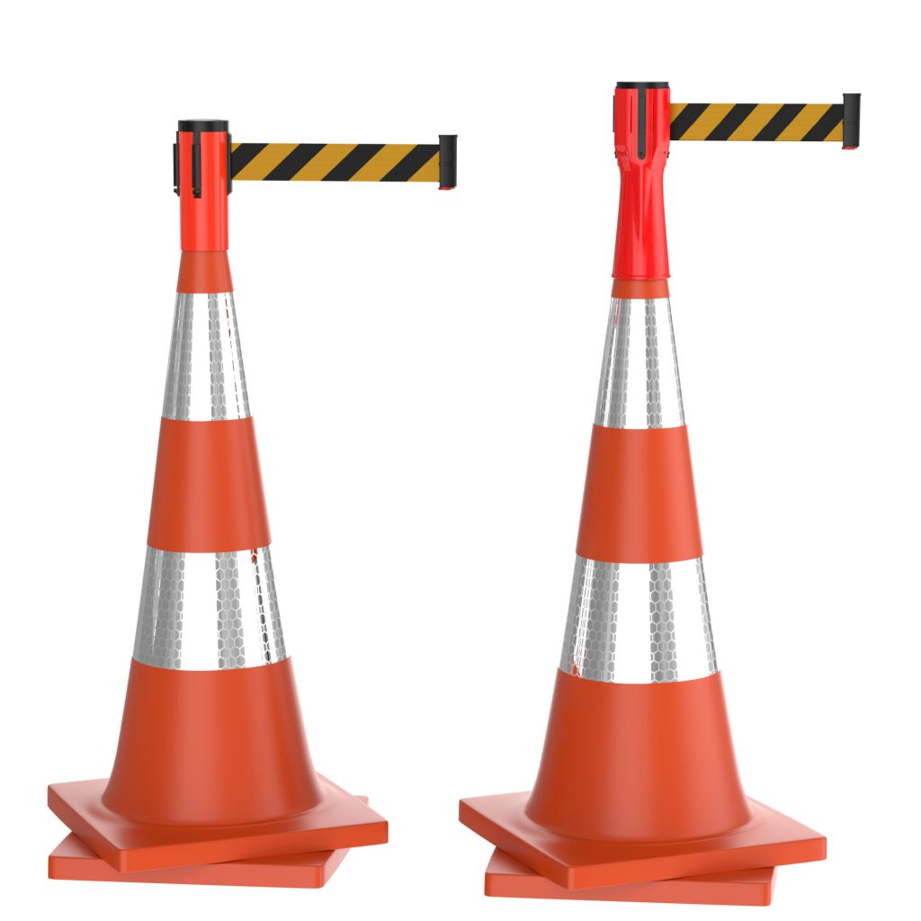 Retractable Belt Cone Topper
