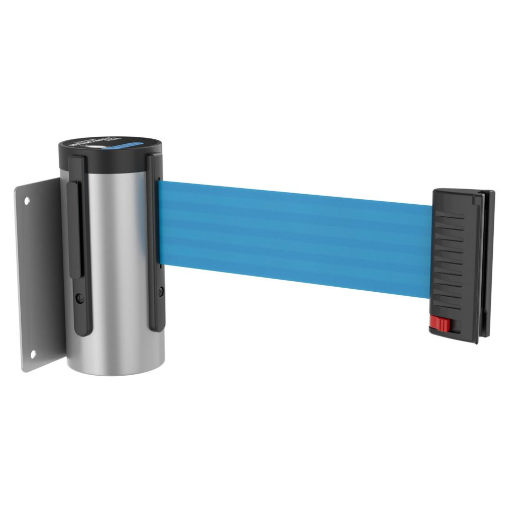 WM100 Wall Mount Retractable Belt Barrier