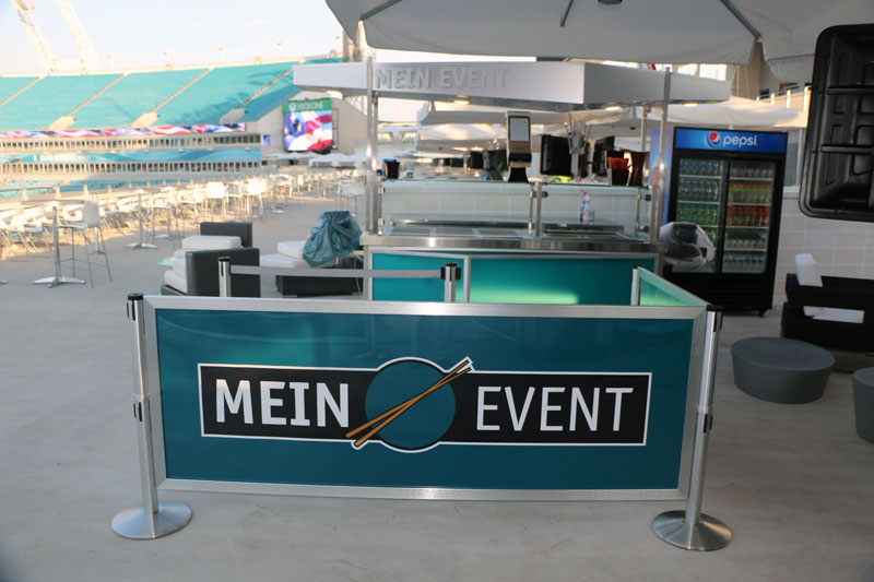 Jacksonville Jaguars EverBank Field: Crowd Control Solutions for Outdoor Concessions