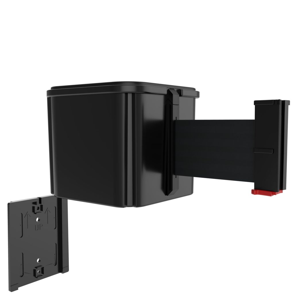 WM412 Series Removable Wall Plate for Wall Barriers